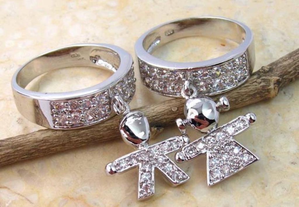 Парные кольца