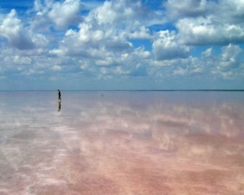 Самое соленое озеро